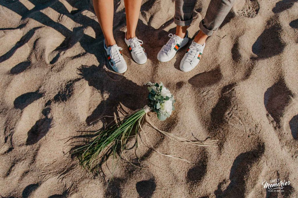 photographie de mariage normandie gucci