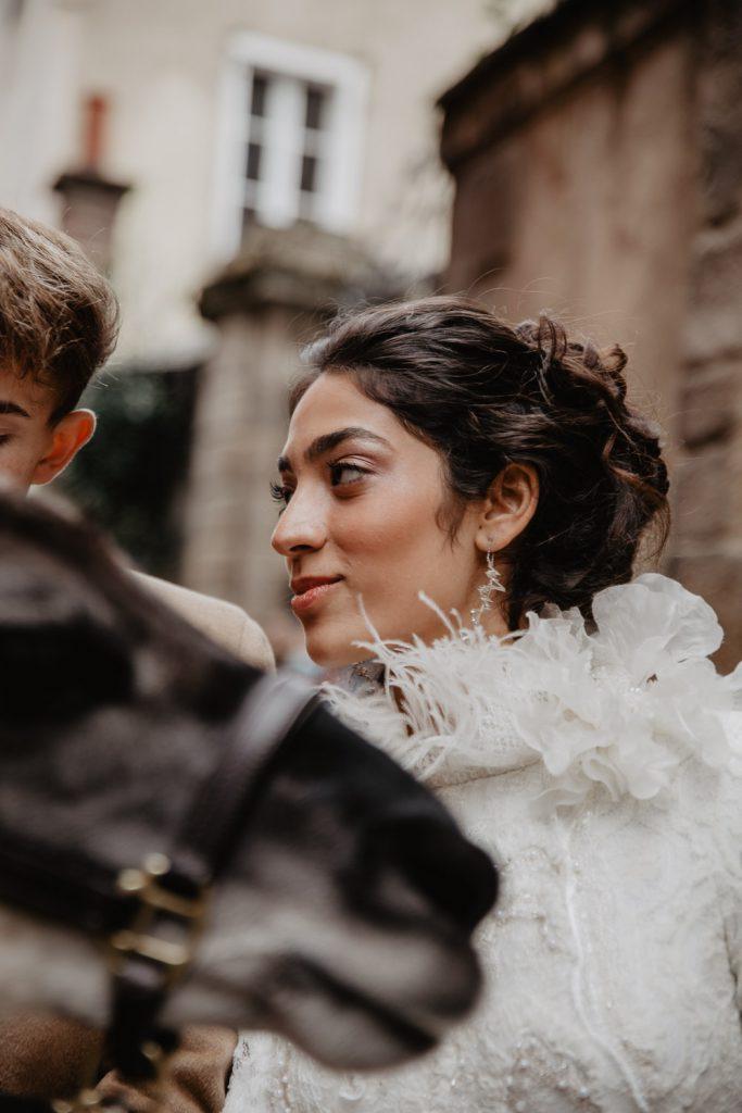 robe de mariée mariage hivers