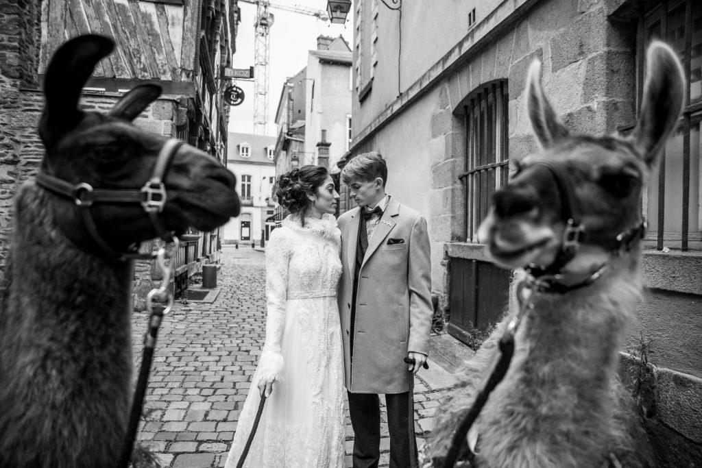 Shooting inspiration mariage hivers